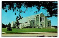 1950s/60s Emmanuel Missionary College Church, Berrien Springs, MI Postcard