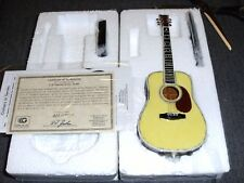 GARTLAN USA C. F. MARTIN APPROVED D-45 GUITAR MINIATURE REPLICA 1:5 SCALE /10000