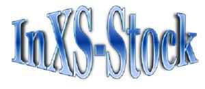 Paper print of Inxs logo