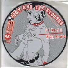IGGY AND THE STOOGES-GIMME DANGER + HEAVY LIQUID SINGLE VINILO PICTURE DISC 1974