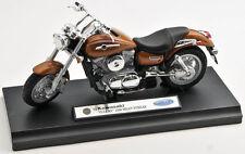 Blitz envío Kawasaki Vulcan 1500 mean streak Welly moto modelo 1:18 nuevo