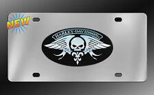 Harley-Davidson Willie G Decorative Vanity Stainless Chrome License Plate   NEW