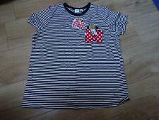 Womens Minnie mouse striped t shirt UK 16 - BNWT