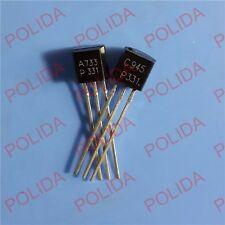 50pairs OR 100PCS NEC TO-92 2SA733-P/2SC945-P 2SA733/2SC945 A733-P/C945-P