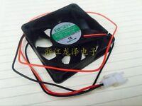 1PC BISEN BD6015M12  12V 0.15A  cooling fan 2 pin 60X60X15mm