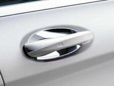 2x Genuine Mercedes Chrome Insert Door Handles Recces S205 W205 C Class REAR