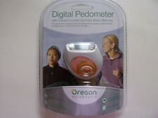 Oregon Scientific DIGITAL PEDOMETER - steps, calories, distance - 7 day storage