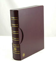 1 Burgundy Lighthouse Grande Binder with Slipcase-Free Shipping!