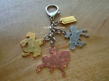 Feng Shui - 2017 Trinity of Victory Horses Hanging Keychain