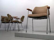 """4x Armlehnstuhl """"Forum 409"""", Herta-Maria Witzemann für Walter Knoll 1961 Stuhl"""