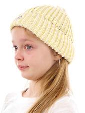 Barts Beanie Headpiece Knitted Cap Yellow Warming Modern