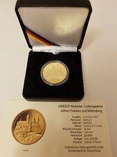 100 Euro Goldmünze,Luthergedenkstätten Eisleben und Wittenberg , 2017, Münze