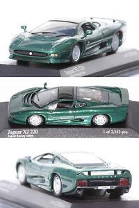 MINICHAMPS Jaguar XJ220 1991 Verde 1/43 430102224