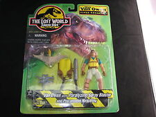 Jurassic Park Lost World Nick Van Owen Pteranodon Action Figure MOC Sealed 1996