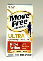 Schiff Move Free Triple Action 75Tab Joints Cartilage Bone Support 09/2020 d/b