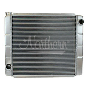 "Northern 209678 Ford Mopar All Aluminum Radiator Single Pass Race Pro 24"" x 19"""