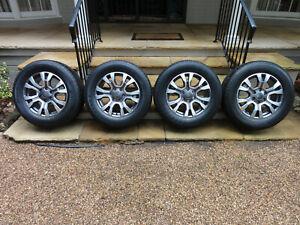 Ford Ranger Wildtrak Alloy Wheels & Bridgestone Tyres. Set of 4. All New.