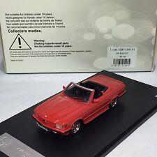 1/43 GLM Model Mercedes-Benz AMG 500SL R107 1983 Red 206101