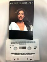 Vintage Carly Simon The Best Of -1975 Elecktra Music Cassette Tape TESTED WORKS