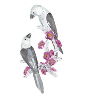 NIB $929 Swarovski Crystal Figurine Tutelary Spirit - Loving Magpies #5004639