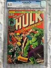 Incredible Hulk 181 CGC 6.5 - 1st Wolverine Appearance - MVS Complete - MCU