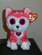 "Ty Beanie Boos ~ APHRODITE the Valentine's Day Husky Dog 6"" (Exclusive) NEW"