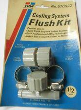 Radiator Flush Tee With Cap 47122 1//2 In