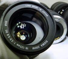 Objetivos Sigma DC F/3, 5 para cámaras