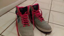 Nike Air Force 1 High # 315121-018 Men Basketball Shoes  Size 11 Blue Grey Coral