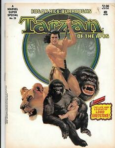 Marvel Super Special Magazine 29,  Tarzan of the Apes Reader G , 1983