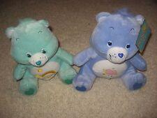 "Daydream Care Bear 13"" Plush Teddy Wish Bear lot of 2 Plush Stuffed"