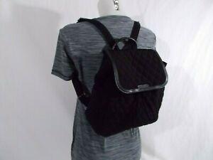 NWT Vera Bradley FASHION BACKPACK Travel Purse Day Bag CLASSIC BLACK  $155