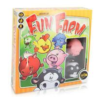 IELLO Fun Farm Animal Card Game For Kids Boys Girls Plush Toys Party Supplies