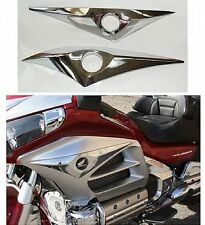 Side Fairing Logo Accents - Chrome - GL1800 Goldwing 2012-present (45-1698)