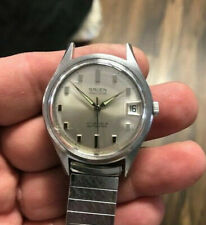 Gruen Precision watch- Automatic 17 Jewels Day Stainless Steel Working Vintage