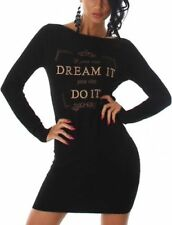 Robes noir en laine pour femme taille 38