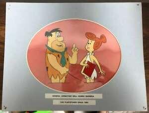D2584: Fred Et Wilma Flintstone Animation, Mat
