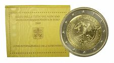 "Vatican 2 euro 2009 ""Year of Astronomy"" BiMetallic UNC"