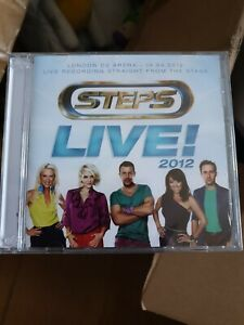 STEPS LIVE! 2012 Tour in london o2 2CD new sealed live from the stage rare