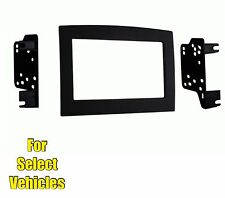 Double Din Stereo Radio Install Mount Trim Face Kit for some 06-10 Ram Truck