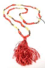 Smykkekunst Halskette Phoebe silber rose beige
