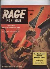 RAGE  #1 1st Issue 1957 Vintage PULP Mens magazine Rock N Roll Sex Elvis Presley