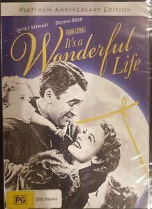 IT'S A WONDERFUL LIFE RARE DVD JAMES STEWART PLATINUM ANNIVERSARY EDITION *NEW*