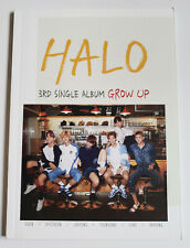HALO 3rd Single Album GROW UP Korea Press CD No Photocard Kpop