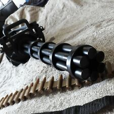Minigun custom painted cosplay Gatling gun realistic prop larp