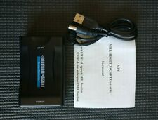 MHL/ HDMI to SCART Converter Video Audio Adapter with USB Cable PAL&NTSC
