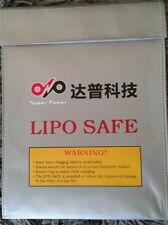 LiPo BAG BATTERIA accumulatore Borsa Safe sacco refrattario Borsa di sicurezza protezione fuoco