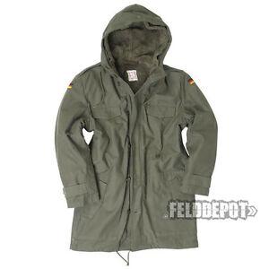 Bundeswehr Parka BW oliv + Futter u. Kapuze NEU !!! German Army Jacket