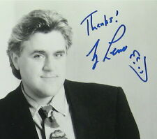 Jay Leno Original Autographed Photo, includes Mirage Tickets Feb 18 2011