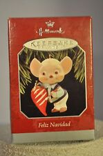 Hallmark - Feliz Navidad - Mouse Amigo & Hot Pepper - Ornament 1995